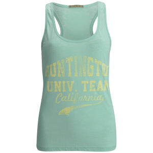 Brave Soul Women's Port Burnout Vest - Green