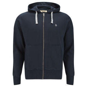 Original Penguin Men's Zip Through Hoody - Sapphire