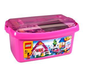 LEGO Bricks and More: Large Pink Brick Box (5560)
