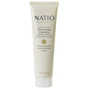 Natio maschera viso vegetale purificante all'argilla (100 g)
