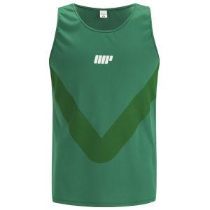 Myprotein męski biegowy t-shirt - zielony