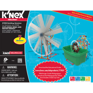 K'NEX Exploring Wind and Water Energy (77051)