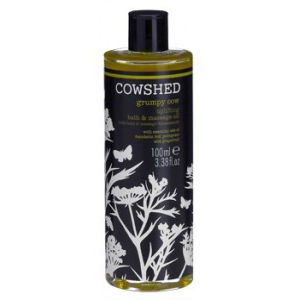 Cowshed Grumpy Cow Uplifting Bath & Massage Oil 3 oz