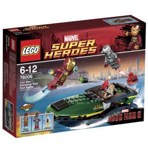 LEGO Iron Man: Extremis Sea Port Battle (76006)