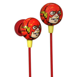 iHip DC Comics Flash Printed Earphones