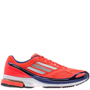 Adidas Men's Adizero Boston 4 Running Shoe - Infrared/Metallic Silver/Hero Ink