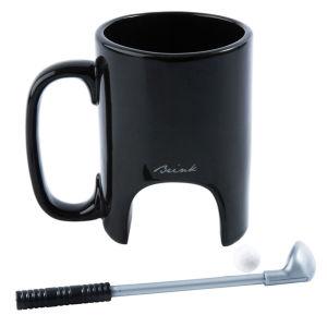 Golf Mug - Black