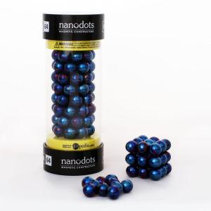 Mega Nanodots Magnetic Constructors Blue - 64 Dots