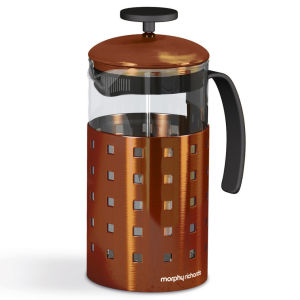 Morphy Richards Accents 8 Cup Cafetiere - Copper