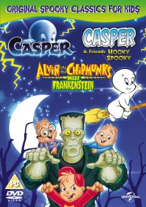 Original Spooky Classics for Kids (Casper / Casper and Friends: Hooky Spooky / Alvin and the Chipmunks Meet Frankenstein)
