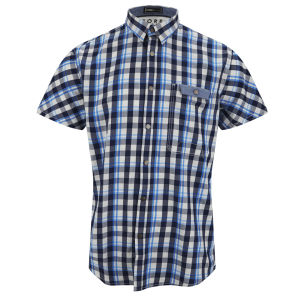 Jack & Jones Men's Elton Shirt - Blue