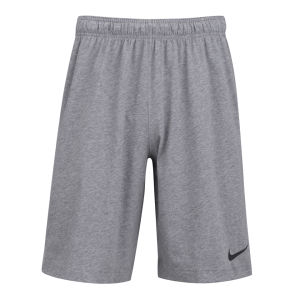 Nike Men's Essential Dri Fit Cotton Knitted Shorts - Carbon Heather