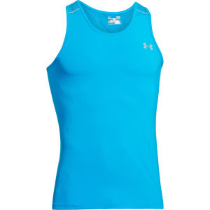 Under Armour Men's Max Vent Run Singlet - Electric Blue/Reflective