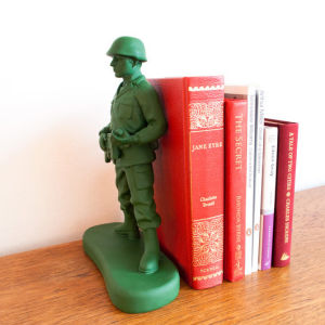 Toy Soldier Shaped Book End Homeguard
