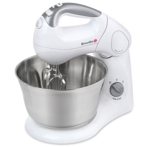 Breville SHM2 Twin Motor Compact Mixer - Stainless Steel