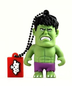 Tribe Marvel Avengers USB Flash Drive 8GB - Hulk Figure