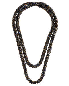 French Connection Beaded Rope Necklace  - Multi