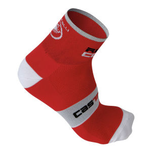 Castelli Rosso Corsa 6 Cycling Socks - Red