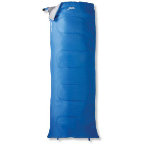 Gelert Hebog Classic Sleeping Bag - Blue Assorted Zip