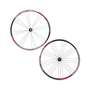 Campagnolo Khamsin Wheelset - Black Red