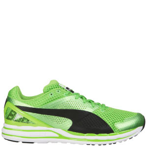 Puma Men's Faas 800 S Running Trainers - Green/Black/White