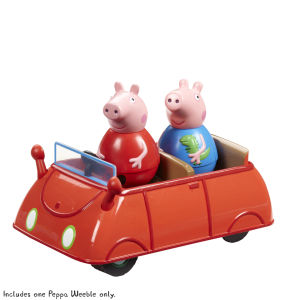 Peppa Pig Weebles Push-Along Wobbly Car