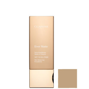 CLARINS EVER MATTE SKIN BALANCING FOUNDATION SPF - 112 AMBER (30ML)
