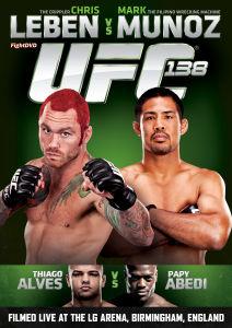 UFC 138 - Leben vs Munoz