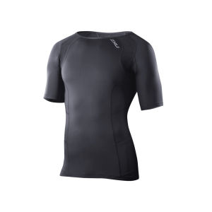 2XU Men's Compression Short Sleeve Top - Black