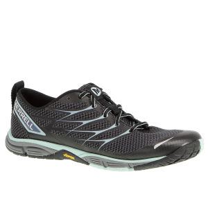 Merrell Women's Road Glove Dash 3 Trail Running Shoes - Black/Eggshell Blue