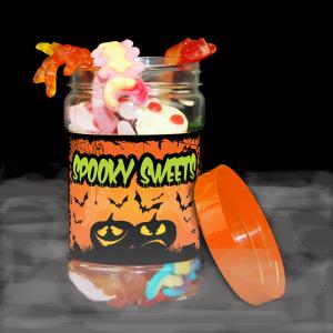 Spooky Sweetie Jar