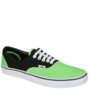 Vans ERA Canvas Trainer (2 Tone) - Black/Green Flash