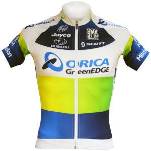 Orica Greenedge Team Original Full Zip Ss Jersey - 2013