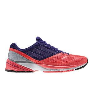 Adidas Women's Adizero Tempo 6 Running Shoe - Red Zest/Blast Purplemet/Blast Purple