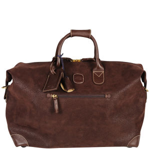 Bric's Life Small Clipper Holdall - Dark Brown