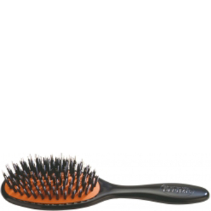 Natural Bristle Cushion Brush de Denman - Small