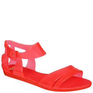 Mel Women's Macadamia Sandals - Coral