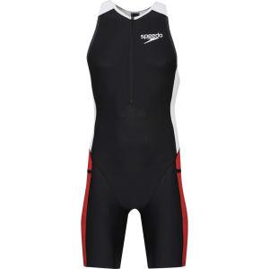 Speedo Men's Triathlon Racer Suit - Black/Girona/White