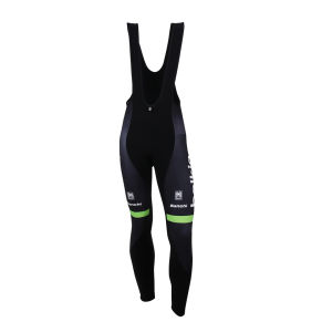 Belkin Team Replica Bib Tights - Black/Green 2014