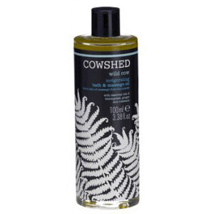 Cowshed Wild Cow - Huile de Bain & de Massage Revigorante (100 ml)