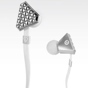 Beats by Dr. Dre Lady GaGa Heartbeats Earphones with ControlTalk - Bright Chrome