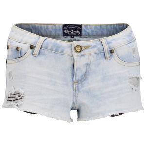 Tokyo Laundry Women's Cara Denim Shorts - Light Vintage
