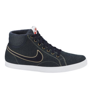 Nike Men's Eastham Mid Textile Trainers - Navy