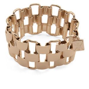 Kardashian Kollection KK Gate Chain Bracelet - Gold