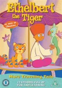 Ethelbert The Tiger - More Travelling Tails