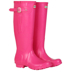 Hunter Women's Original Adjustable Wellies - Fuchsia