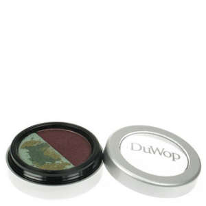 Duwop Green Eyecatcher Shadow - Matte Burgundy/Marbled Green Shimmer