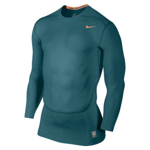 Nike Men's Core Compression Long Sleeve Top 2.0 - Green