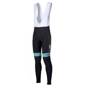 Bianchi Men's Gadera Bib Tights - Black/Celeste