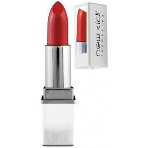 New CID Cosmetics i-pout Lipstick with Mirror- Scarlet